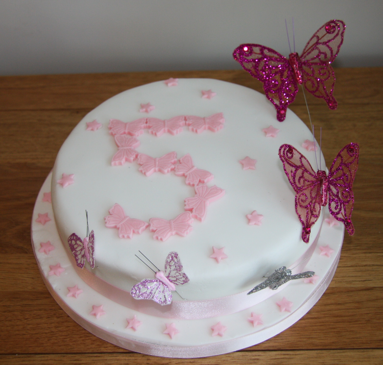 Pin Buttercream Butterfly Cake on Pinterest