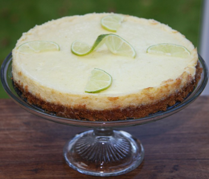 Key Lime Pie – not so much a pie, more a cheeseless cheesecake ...