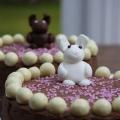 bunny malteser cake