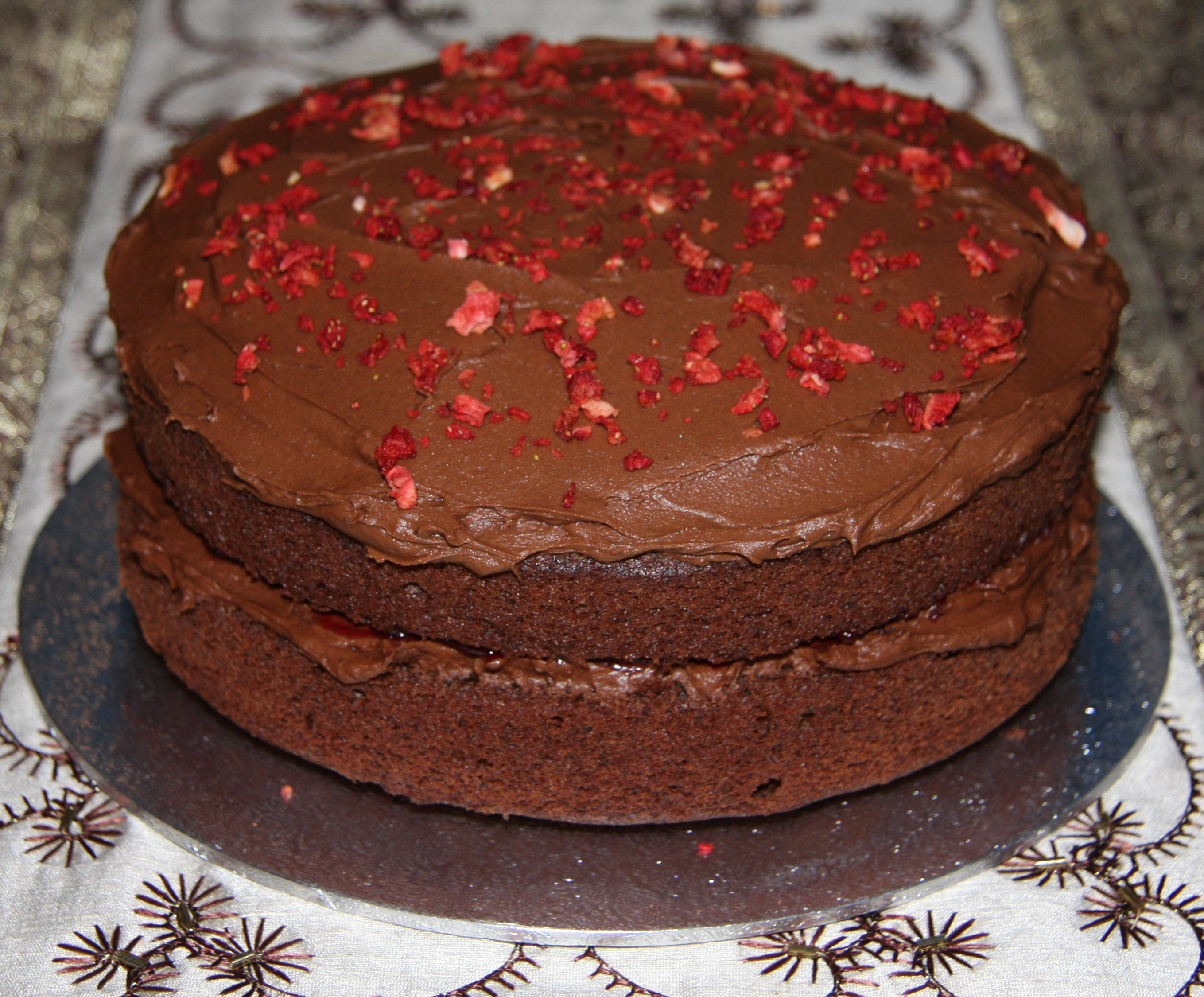... Chocolate Birthday Cake Recipe In Addition Chocolate Sponge Cake