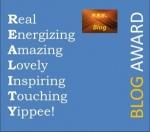 Reality blog award