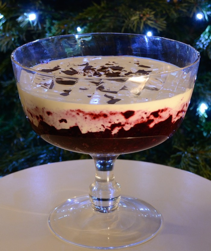 Blackcurrant Trifle