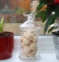 jar of meringues