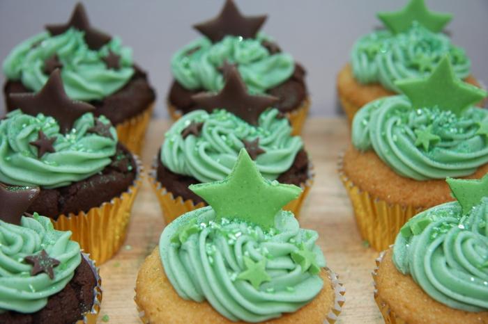 chocolate vanilla cupcakes