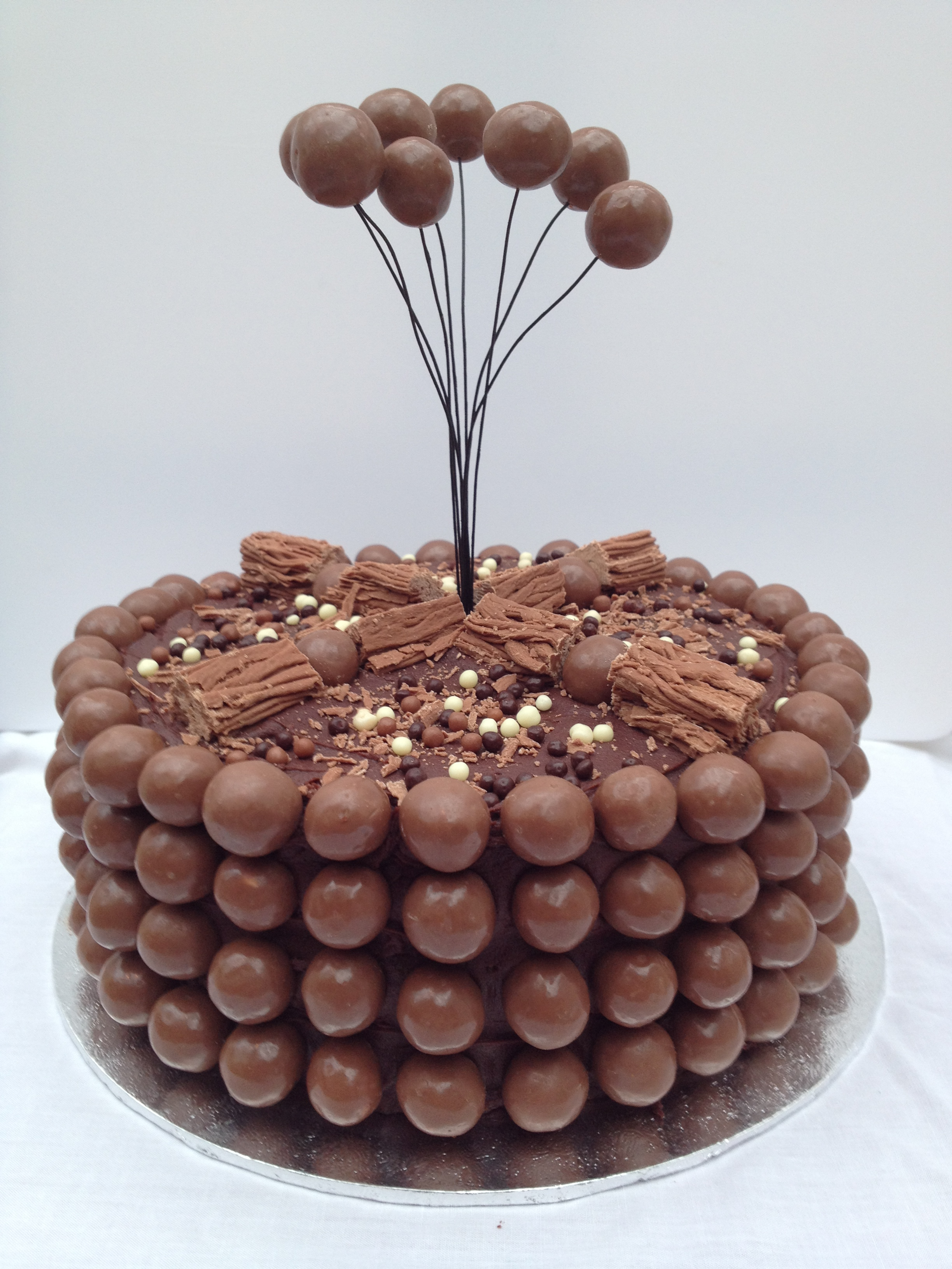 Chocolate Birthday Cake – with extra chocolate