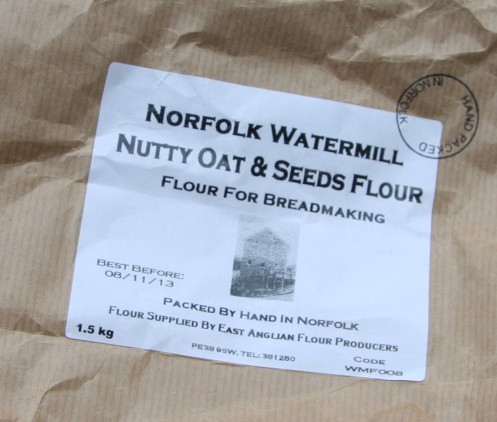 flour label