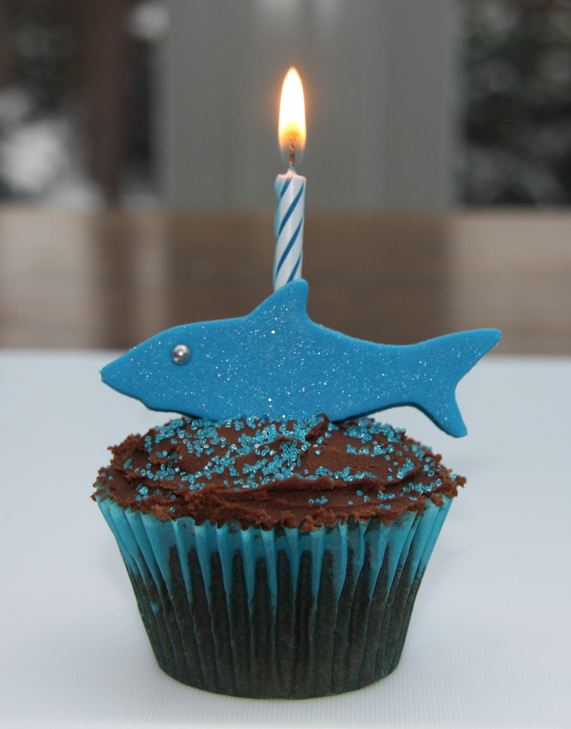 Shark Cakes Birthday