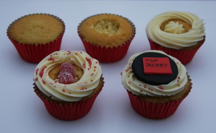 spy cupcakes