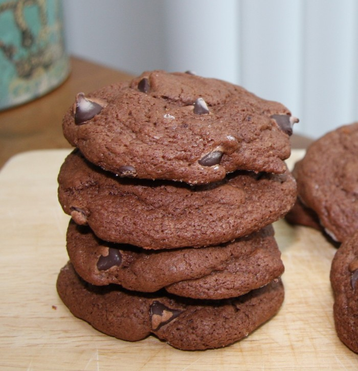 Triple Chocolate Cookies – if you gave up chocolate for Lent, look ...