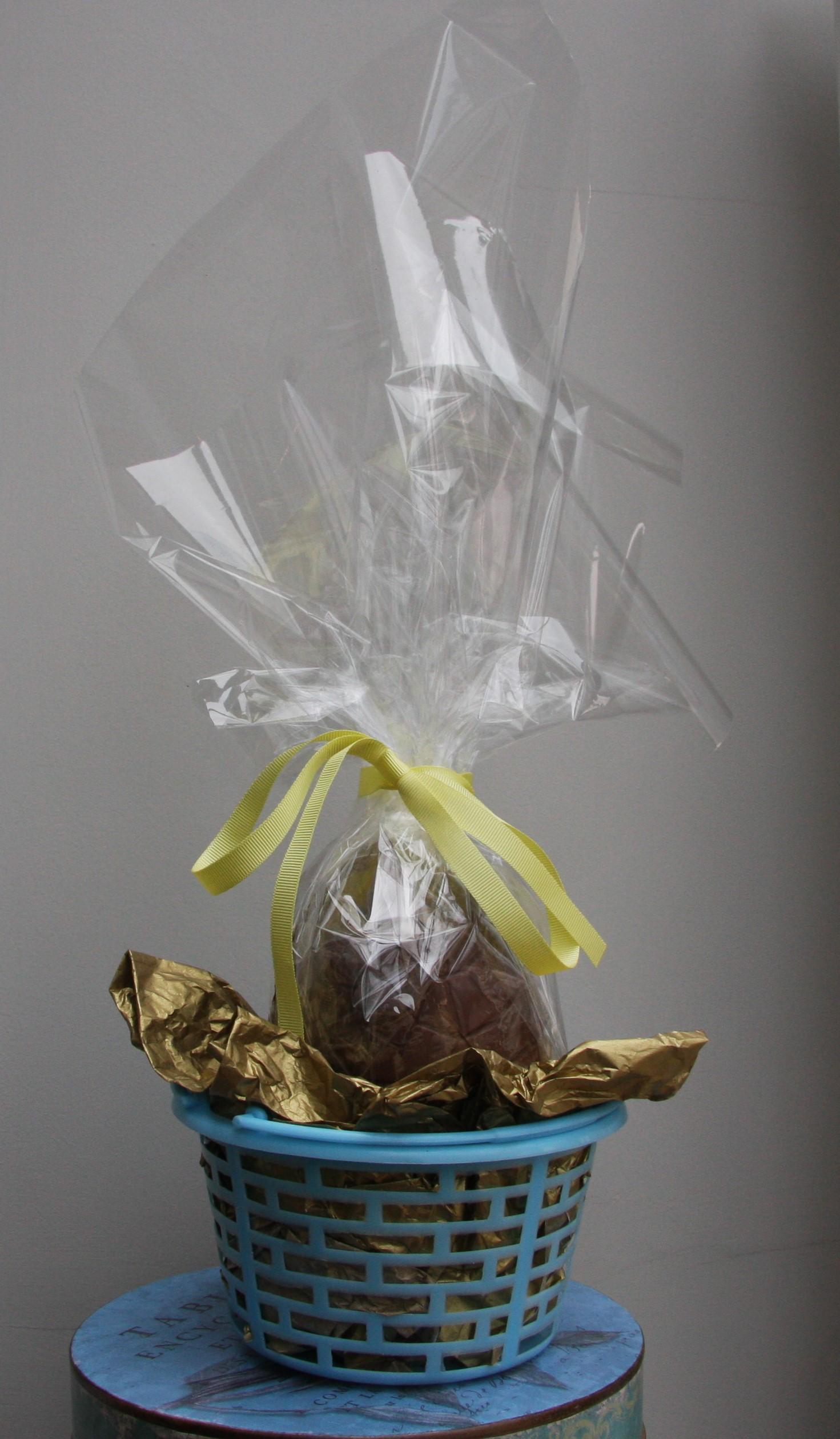 Easter treats homemade chocolate easter eggs lovinghomemade homemade easter egg negle Images