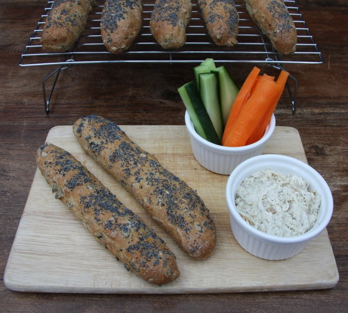 homemade bread paté