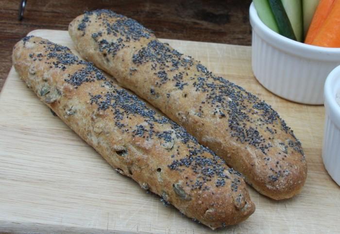 pumpkin poppy seed bread