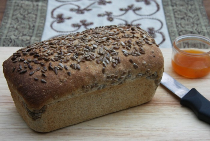 sunflower bread