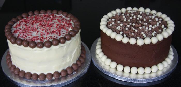 homemade cake twins