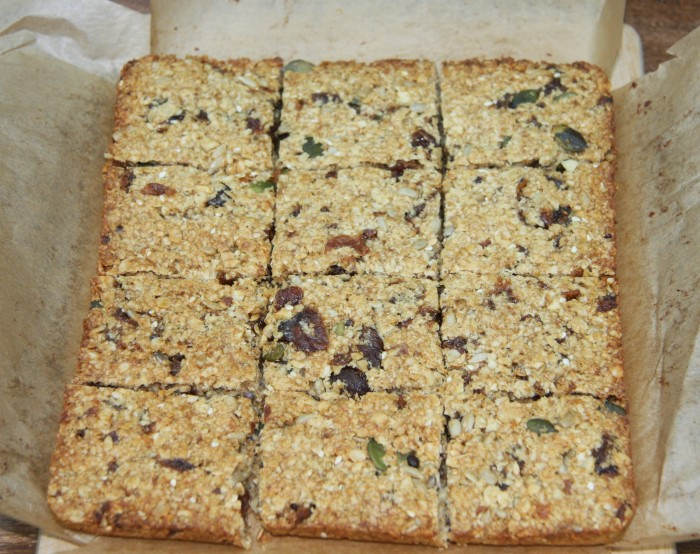 homemade flapjack