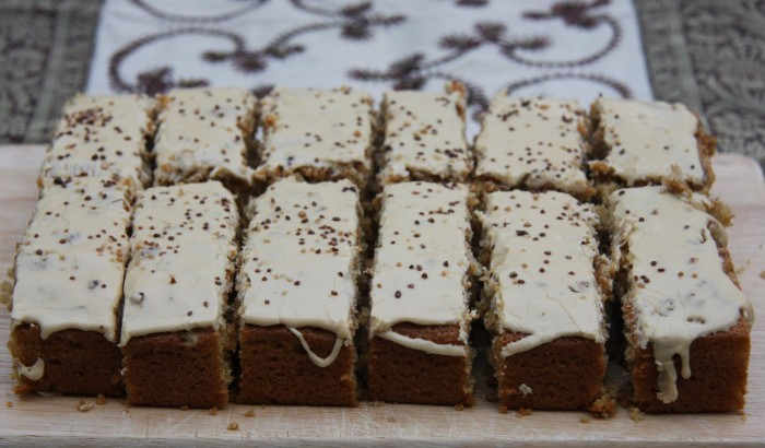 coffee walnut bars