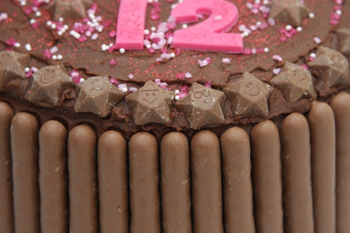 chocolate finger cake