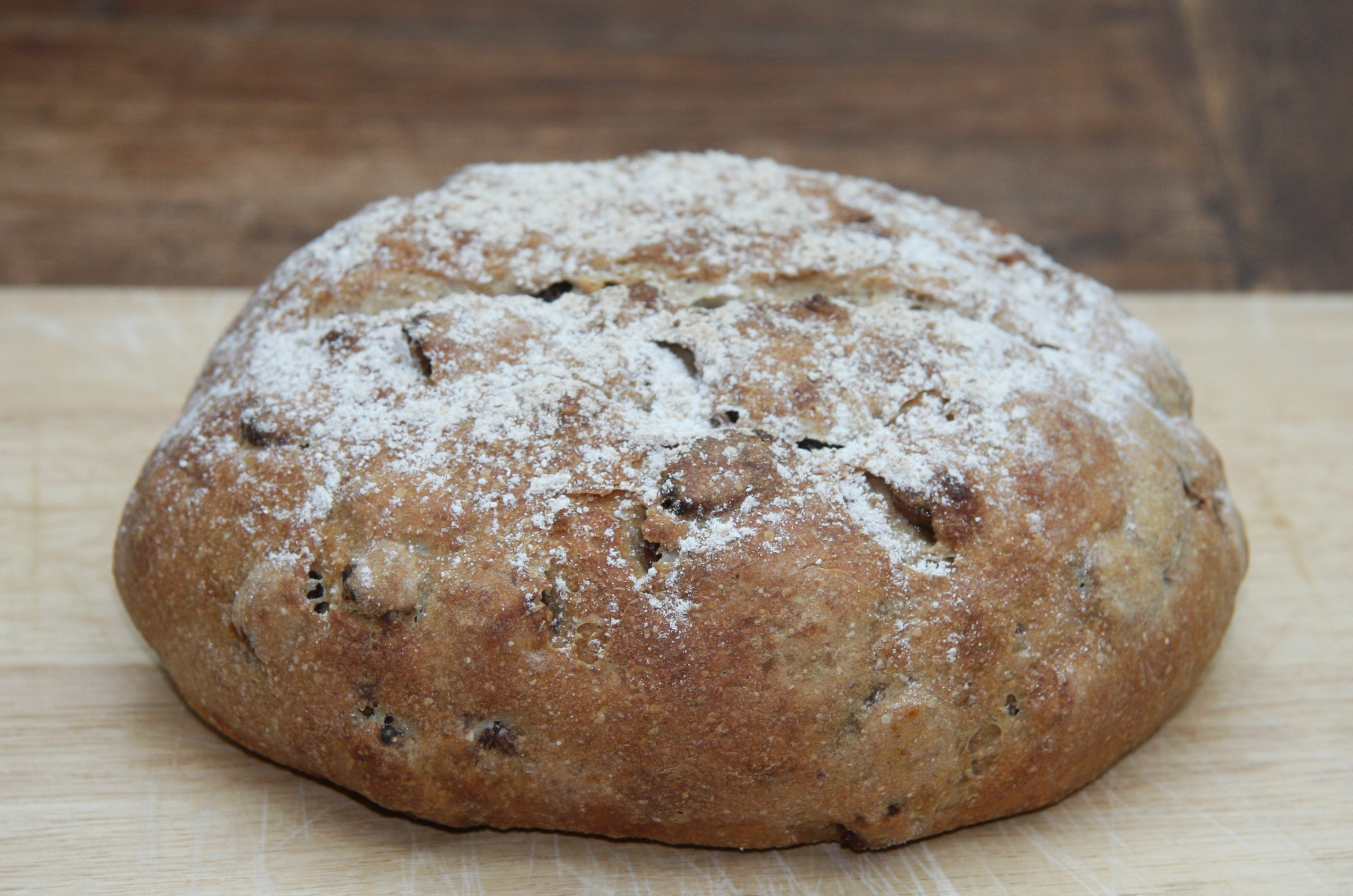 Rye and Sultana Bread | lovinghomemade