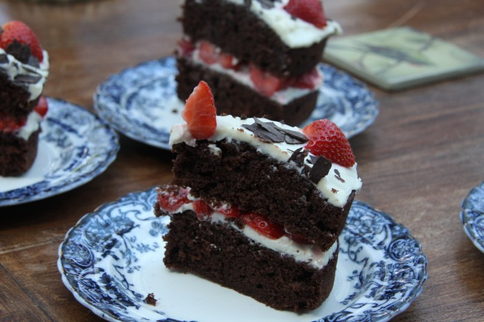 Slices of cake!