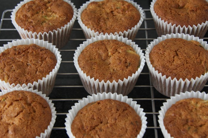 courgette lemon muffin