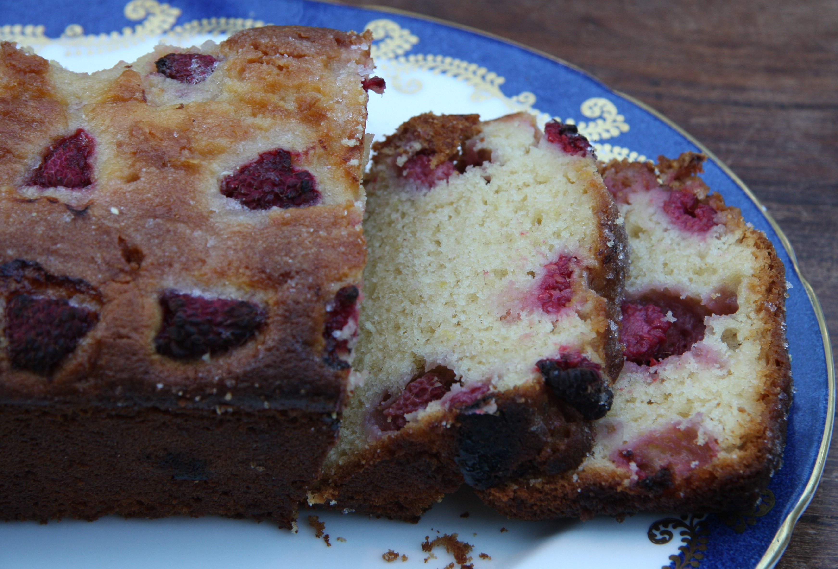 Yeo Valley Raspberry Yogurt Cake