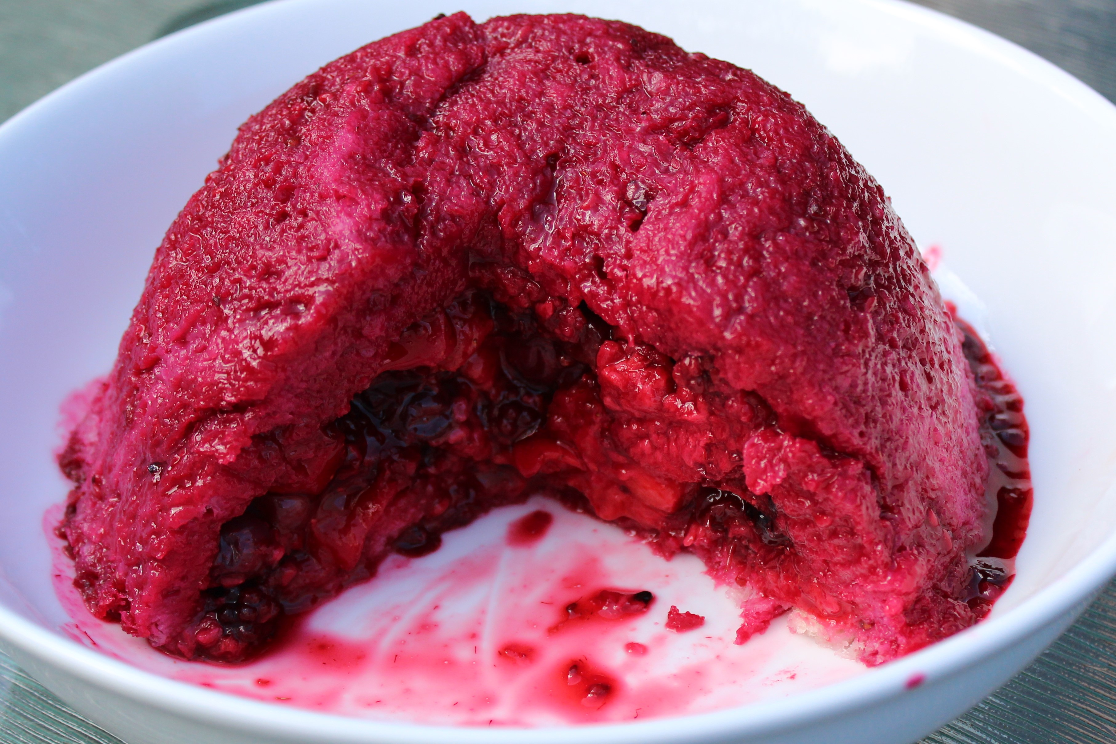Summer Pudding | lovinghomemade