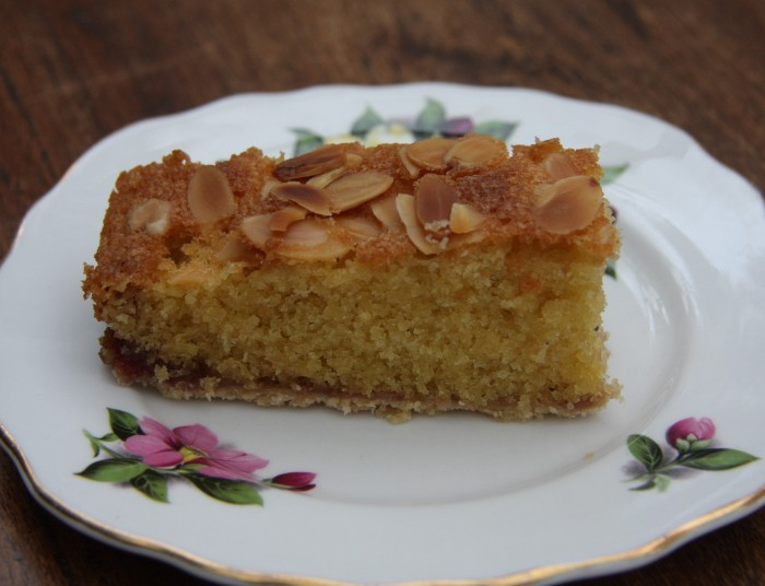 homemade almond slice