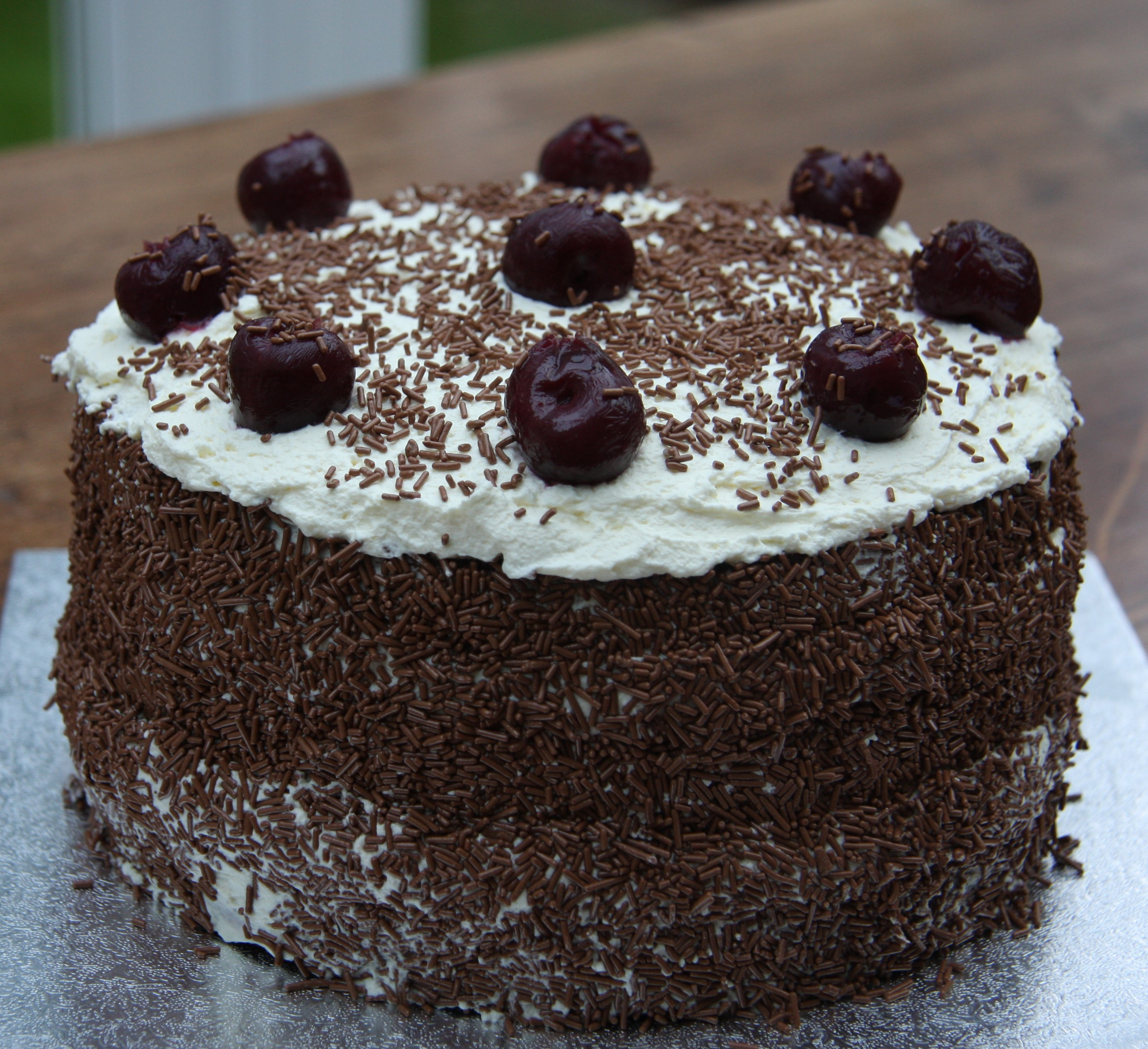 Chocolate Gateau Birthday Cake