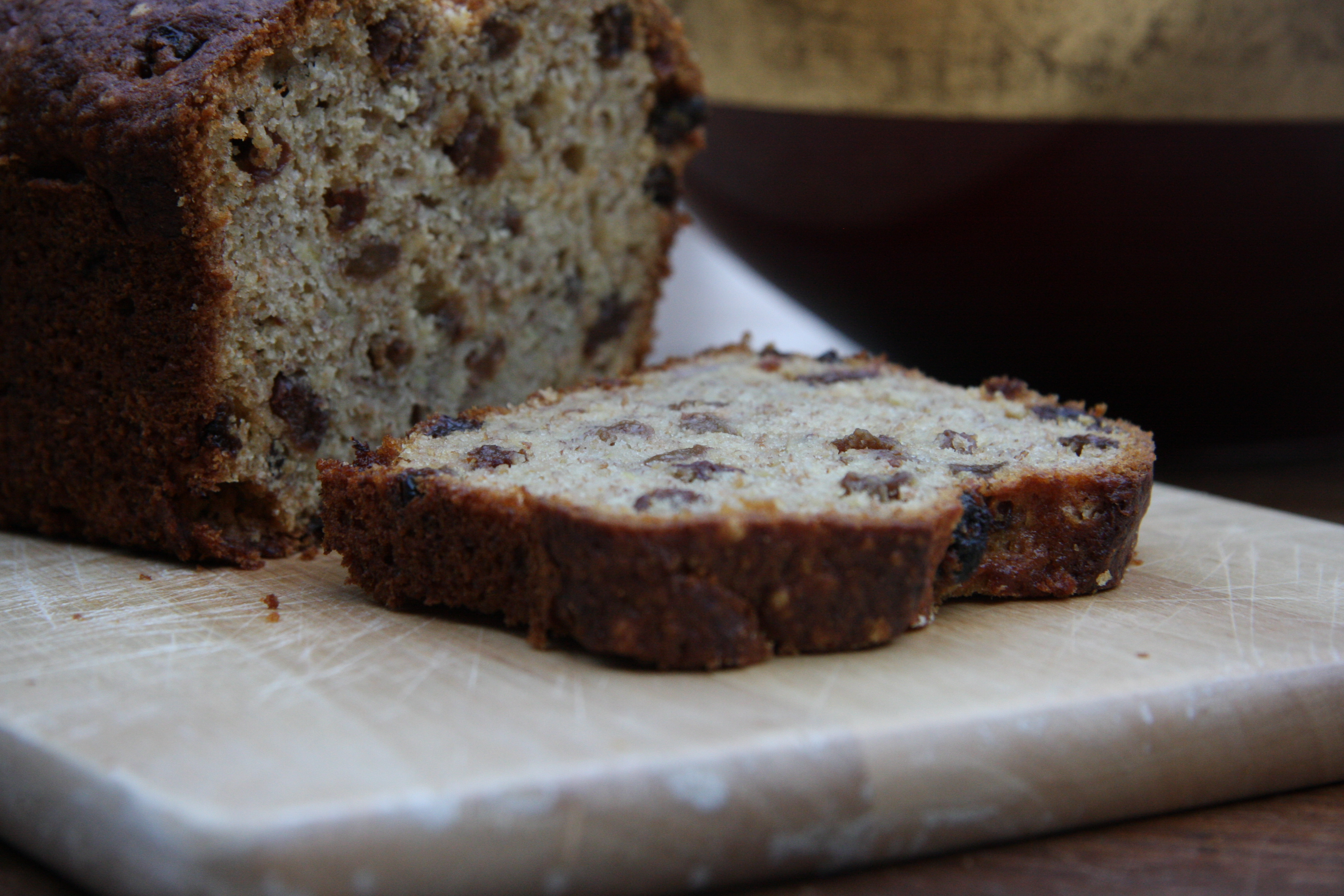 Banana and Raisin Loaf | lovinghomemade