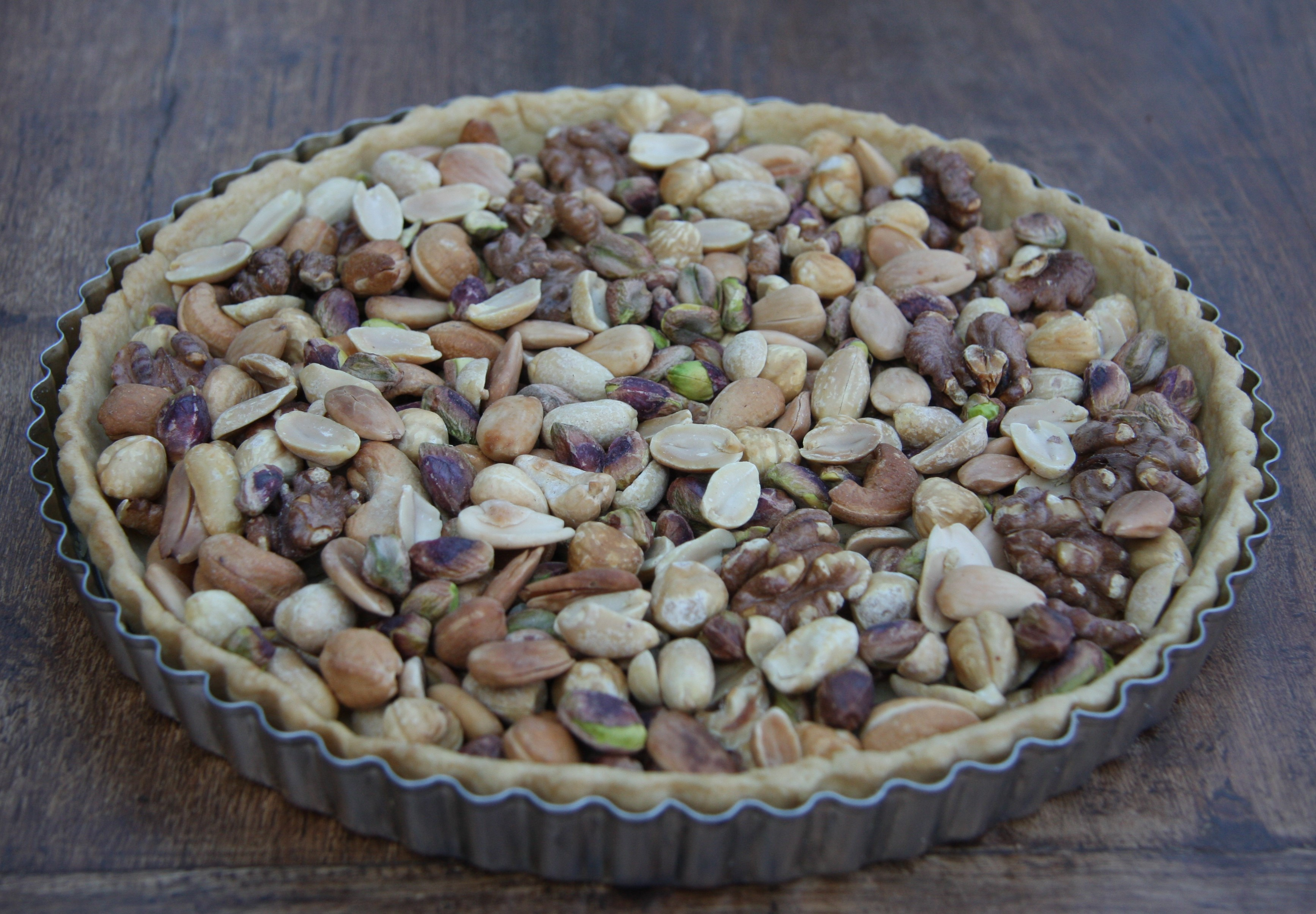 Caramel Nut Tart – lovinghomemade