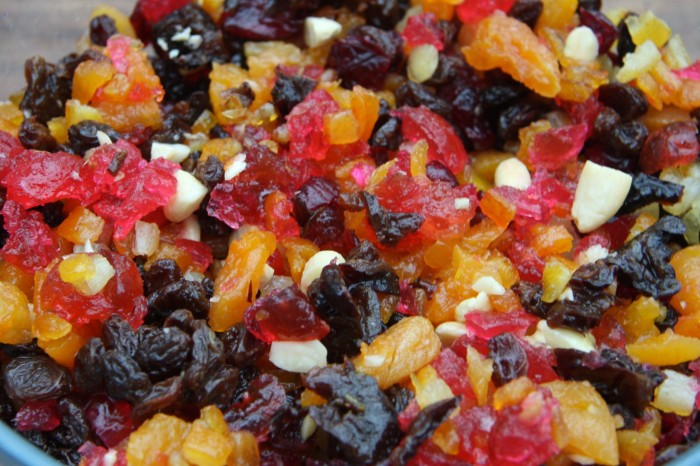 christmas cake fruit