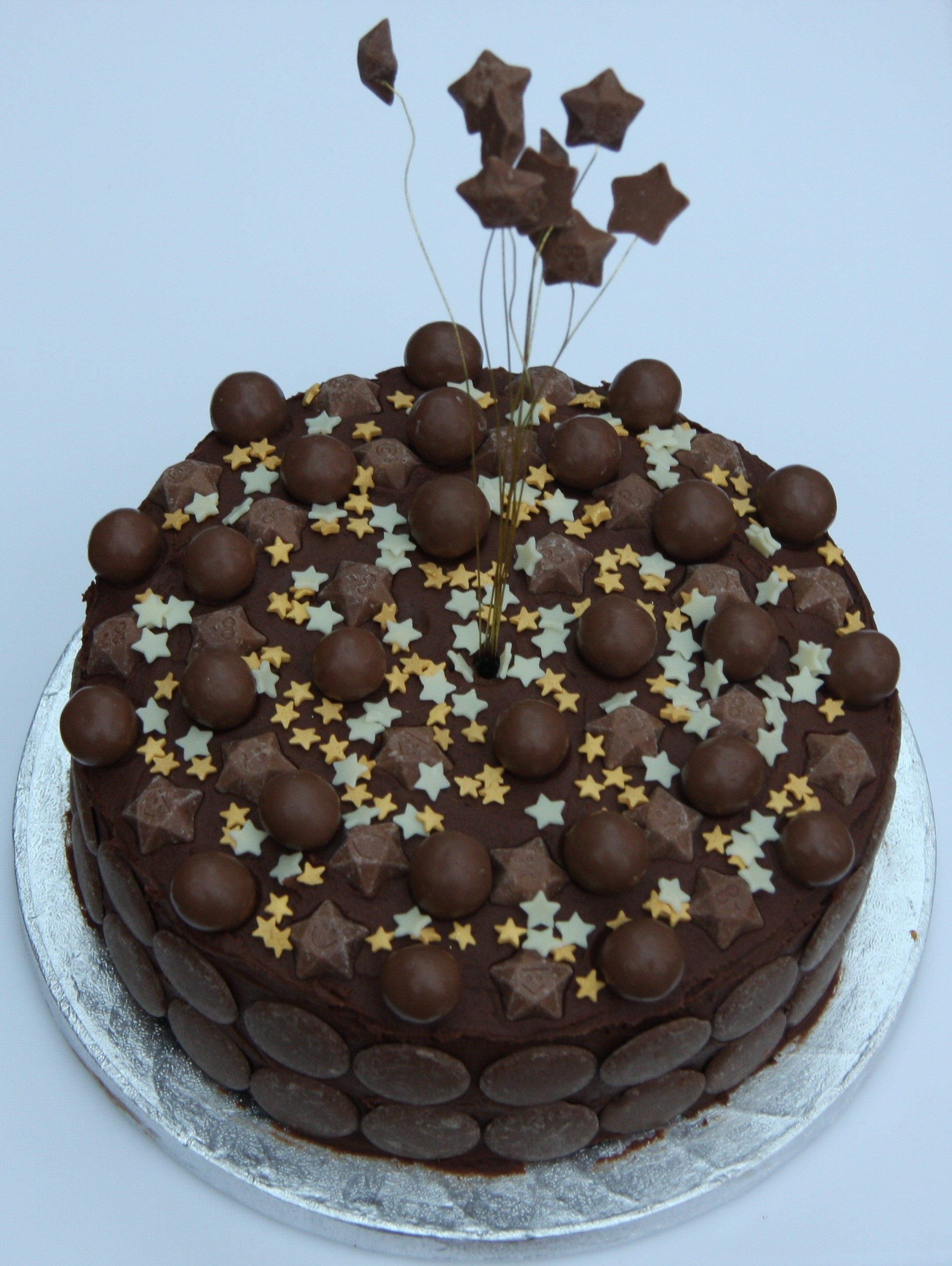 Chocolate Birthday Cake For Kids And Lovers Lovinghomemade