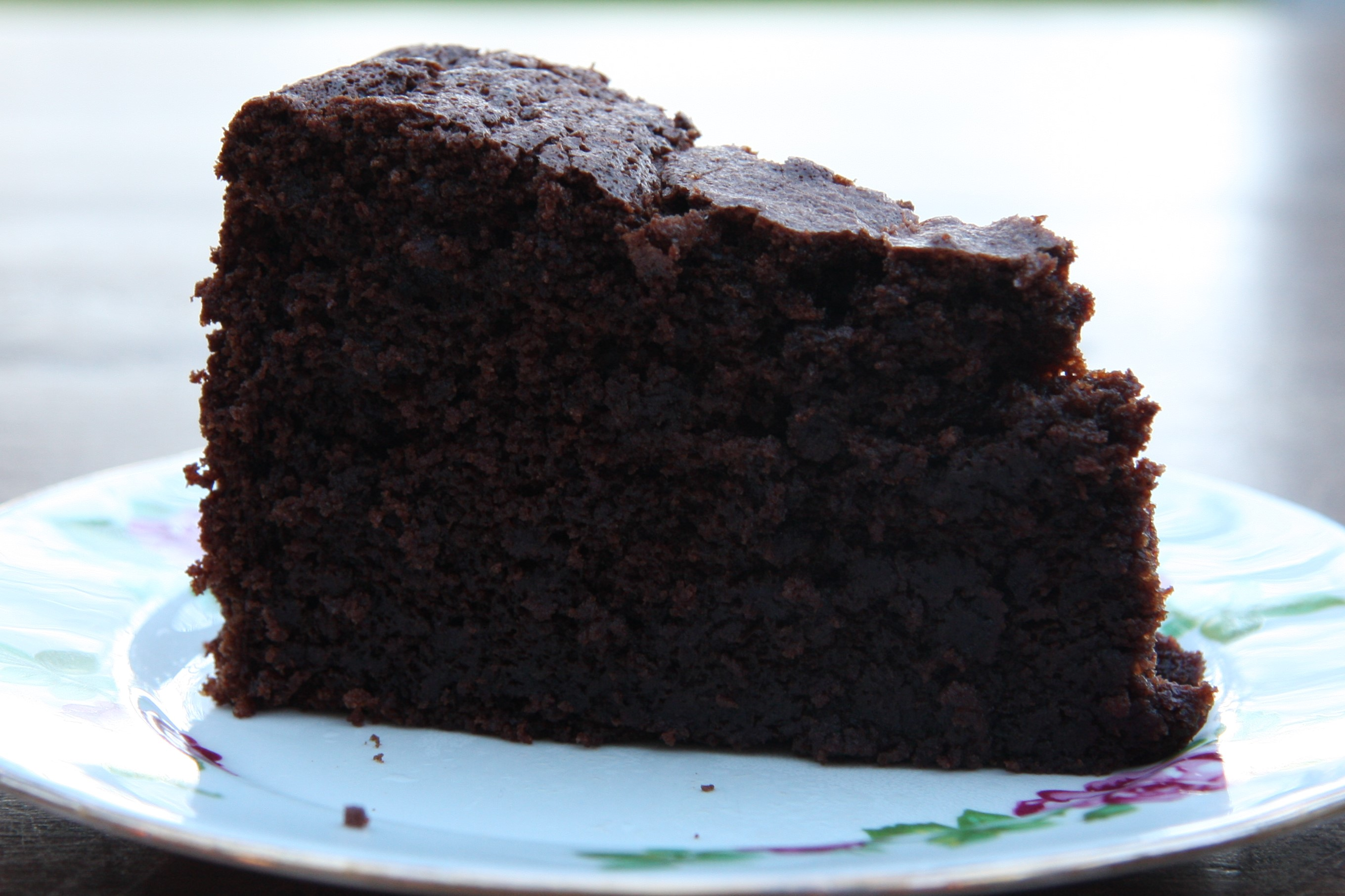 Coffee Dark Cake Chocolate Recipe