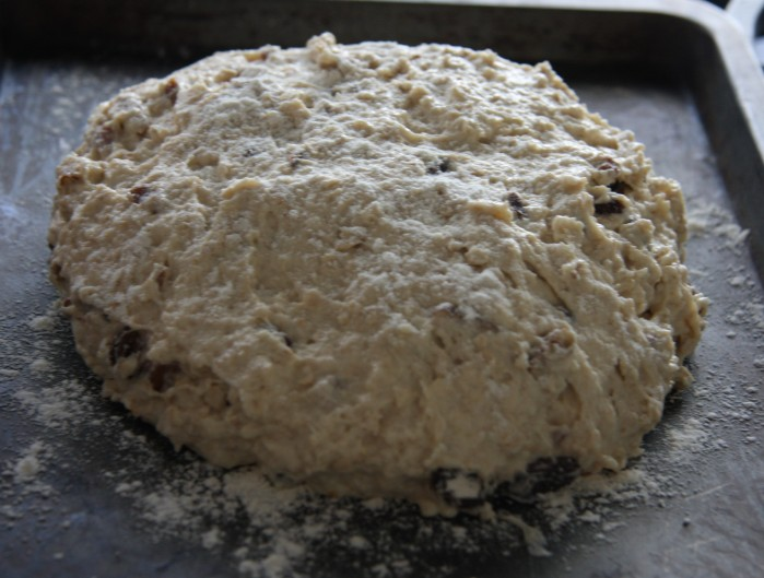 soda bread dough