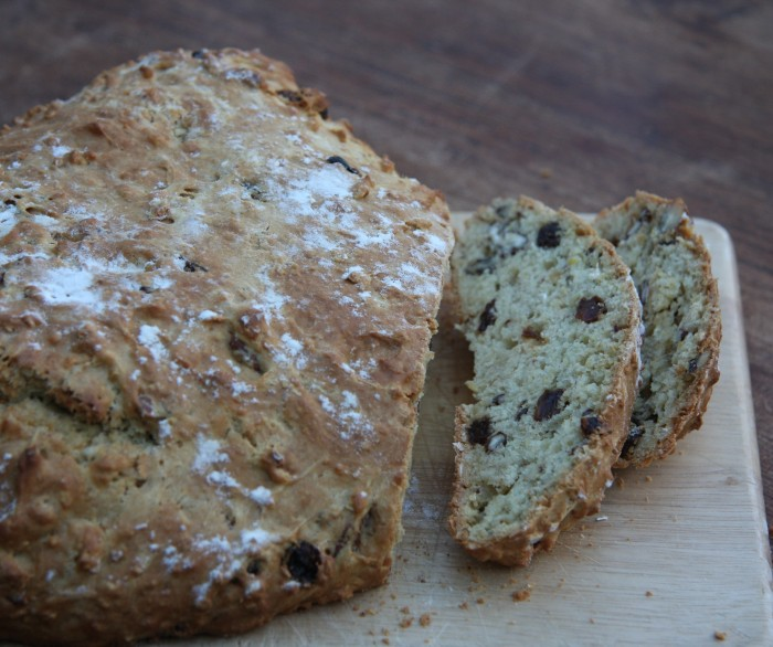 pecan raisin soda bread