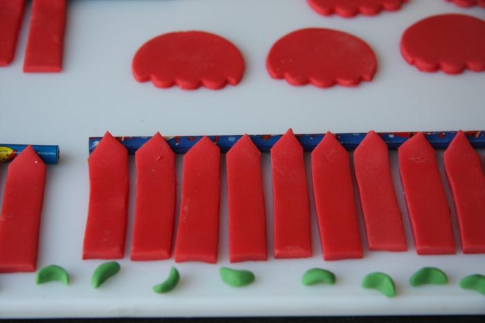 sugarpaste skis parachutes