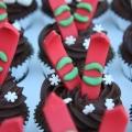 ski cupcakes