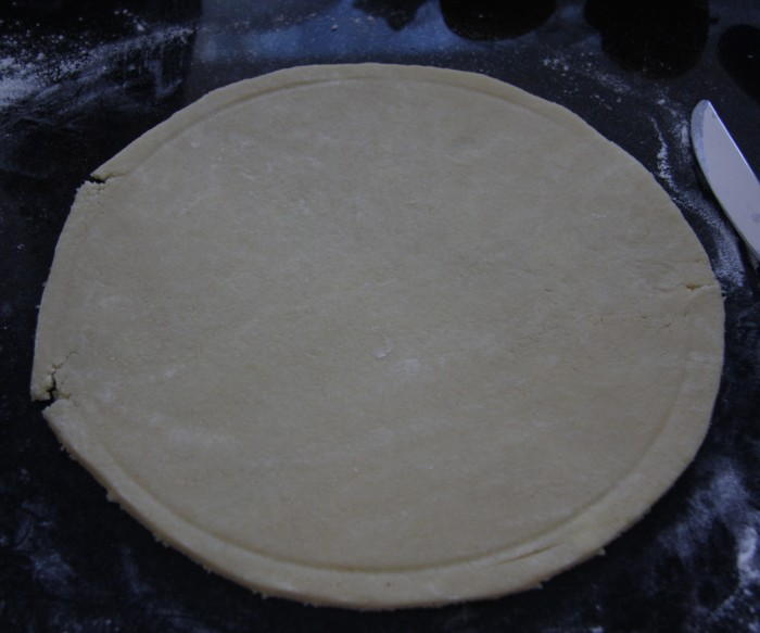 homemade tarte tatin pastry