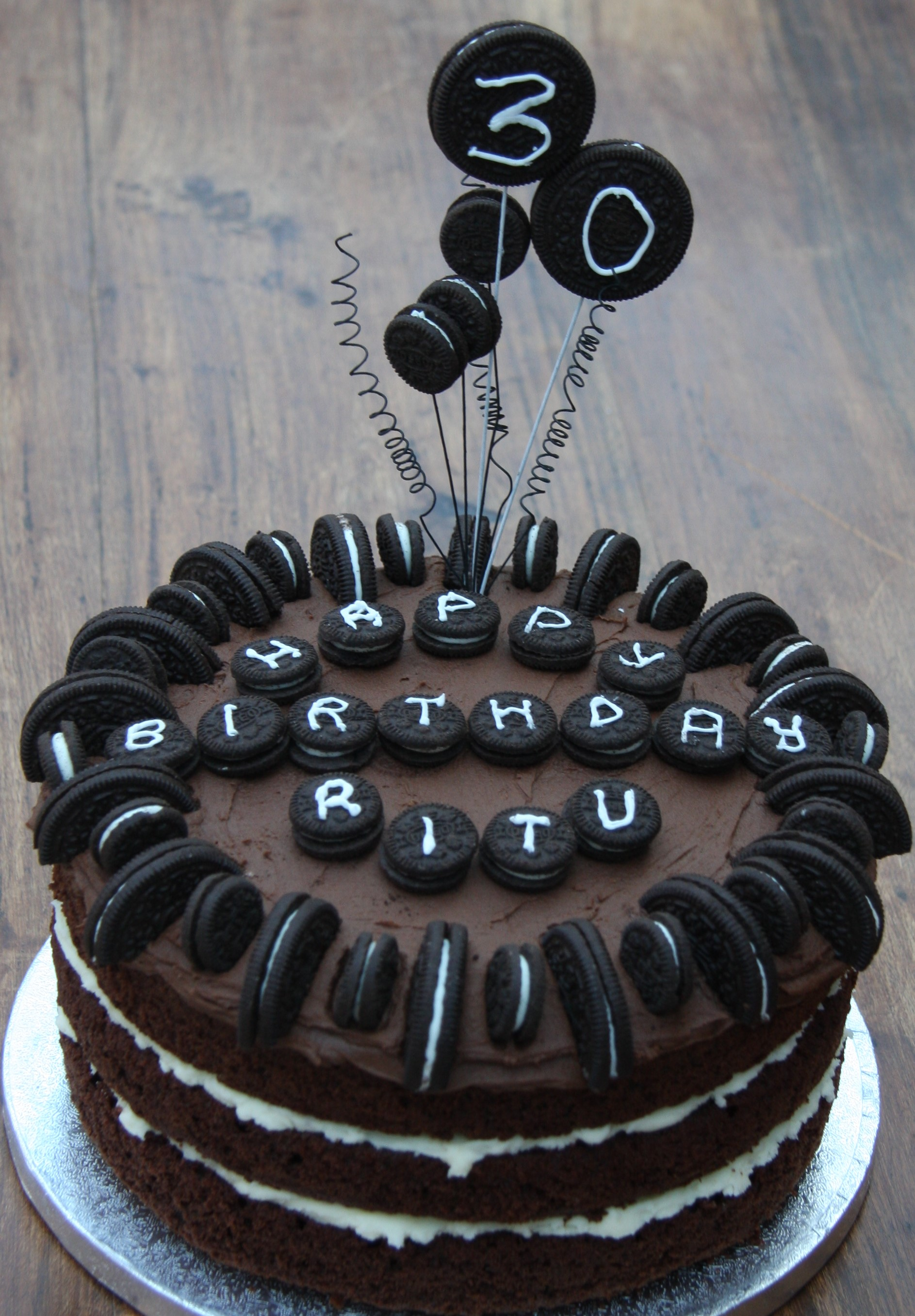 Images Of Birthday Cake With Name Ritu : More Birthday Cake Ideas lovinghomemade