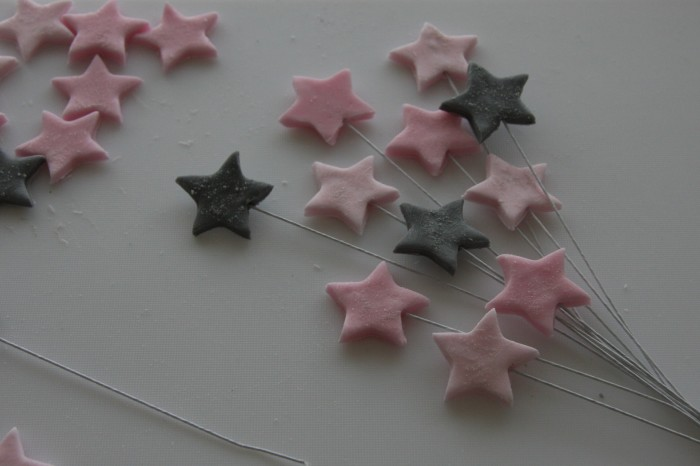 star cake topper