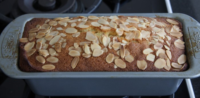 lemon almond loaf