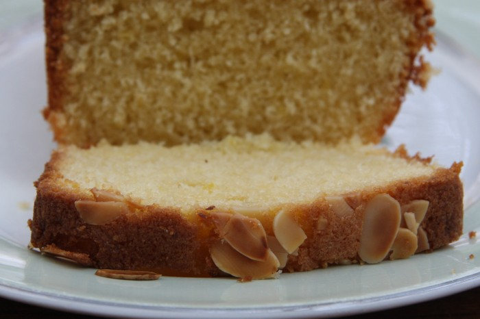 almond lemon loaf