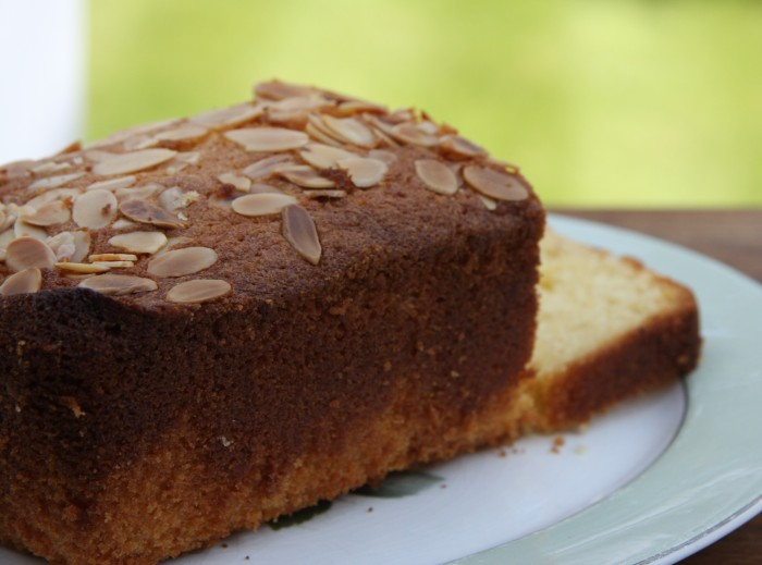 Almond and lemon loaf