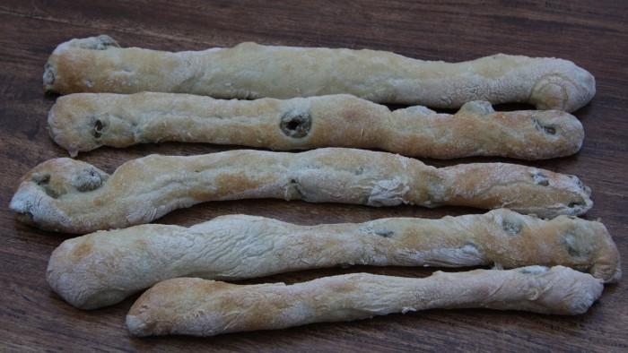 olive breadsticks