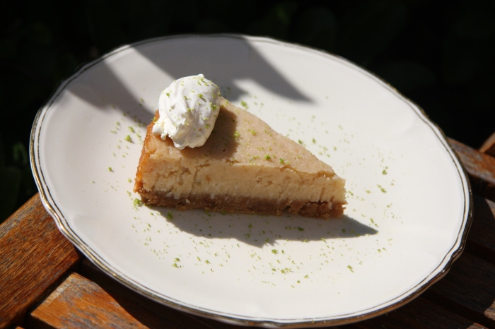 coconut lime tart