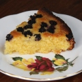 blackberry polenta cake