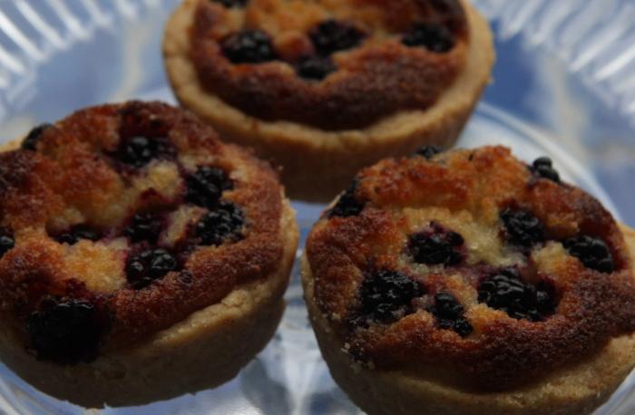 blackberry bakewells