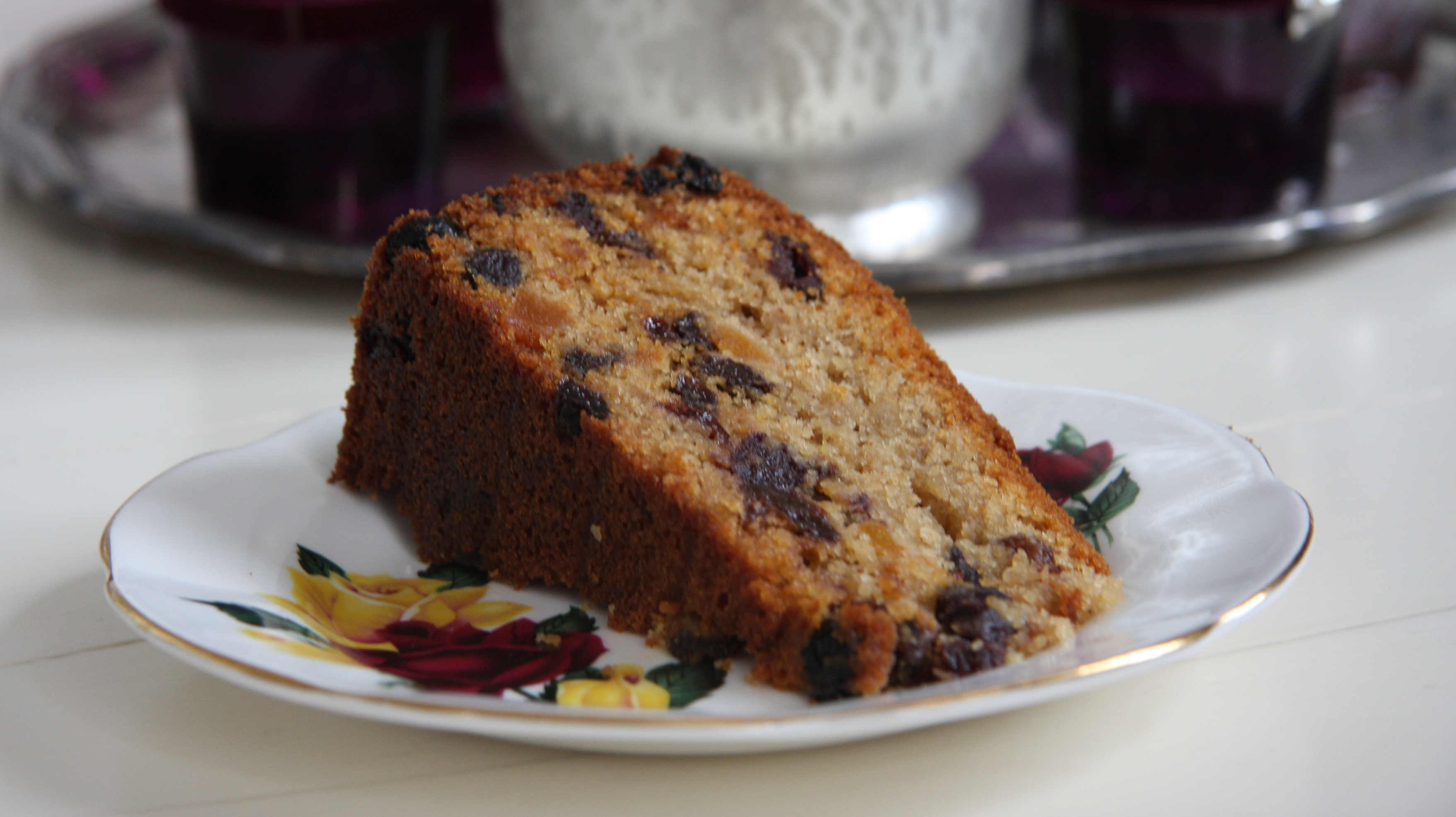 Cranberry Apricot Fruit Cake photo