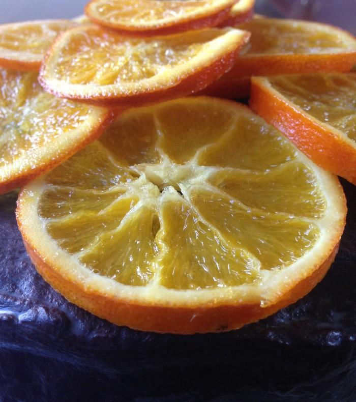 crystallised oranges