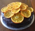 crystallised orange chocolate cake